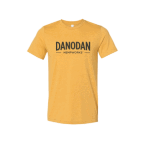 Danodan t-shirt in heather mustard